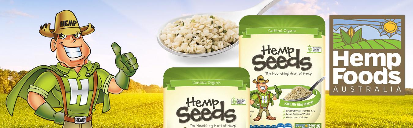Hemp Seeds Banner