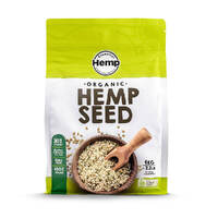 Organic Hulled Hemp Seeds 1kg