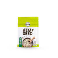 Organic Hulled Hemp Seeds 114g