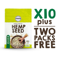 Bulk Hemp Seeds - 10 packs + free gift