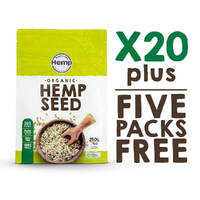 Hemp Seeds - 20 pack + FREE GIFTS