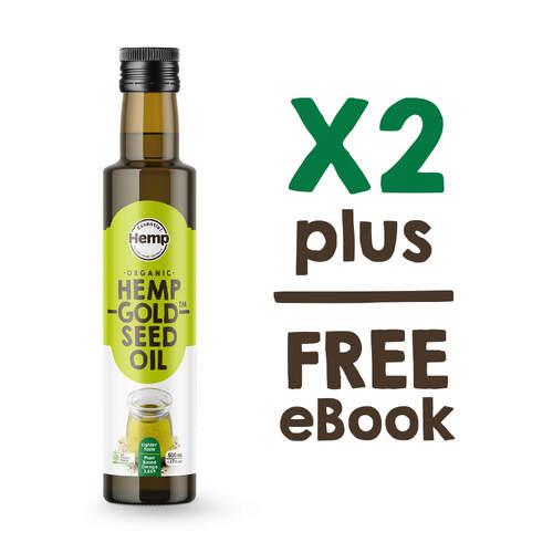 Buy 2 bottles of hemp oil and save
