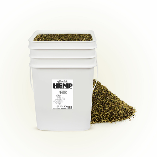 Aus Cert Org Hemp Powder/Flour - 10kg Tub