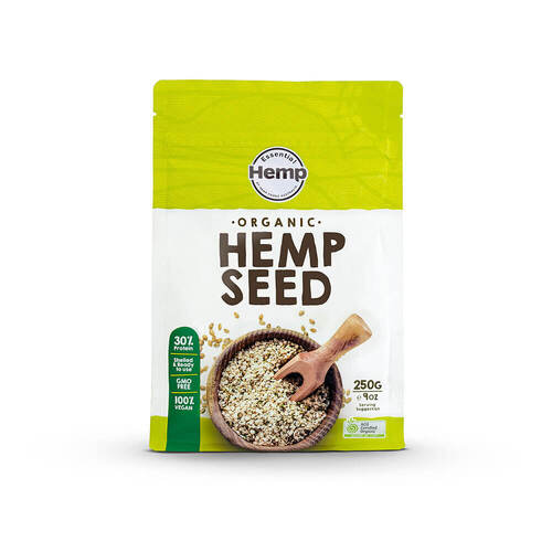 Organic Hulled Hemp Seeds 250g